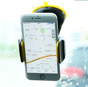 REMAX Car Smartphone Holder black/yellow (RM-C06)