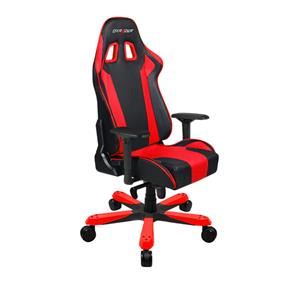 DXRACER PC Gaming Chair, King Series, OH/KB06/NR, Black & Red