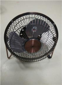 """iCAN ATC-401A 4"""" Retro Air USB Fan - Bronze (ATC-401A)"""