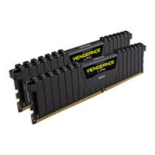 Corsair Vengeance LPX 16GB (2x8GB) DDR4 3000MHz CL15 Memory Kit Black (CMK16GX4M2B3000C15)