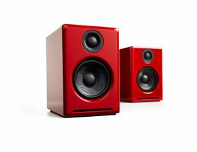 Audioengine A2+, Powered Desktop Speakers (Pair/Red) ** Top Seller. Ask for more details regarding available promotion. **
