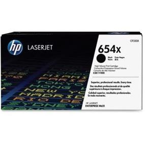 HP 654X (CF330X) Black High Yield Original LaserJet Toner Cartridge