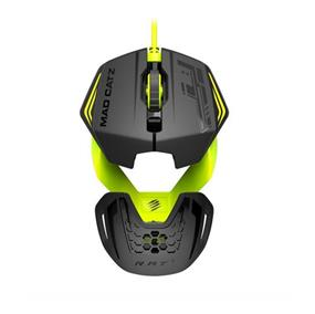 Mad Catz PC MCZ R.A.T.1 Wired , Green Gaming Mice (MCB437260006/06/1)