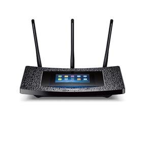 TP-LINK AC1900 RE590T Touch Screen Wi - Fi Range Extender