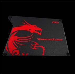MSI Thunderstorm Aluminum Gaming Mouse Pad (GF9-V000001-EB9)
