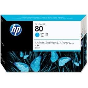 HP 80 Cyan Ink Cartridge - Inkjet - 4400 Page (C4846A)