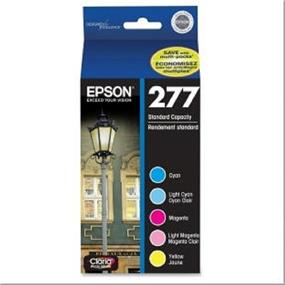 Epson 277 Tri-Color/LC/LM 5-Pack Ink Cartridges (T277920-S)