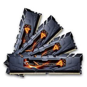 G.SKILL Ripjaws 4 Series 32GB (4x8GB) DDR4 3000MHz CL15 Quad-Channel DIMMs (F4-3000C15Q-32GRK)