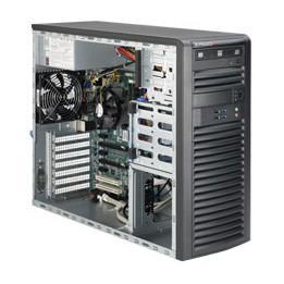 Supermicro SuperWorkstation (SYS-5039A-iL) - Mid-Tower - E3-1200v5 - Socket 1151 - Intel C236 - 4x SATA - 4x DDR4 - 500W - Barebone