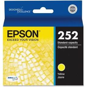 Epson 252 Yellow Ink Cartridge (T252420-S)