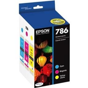 Epson 786 Tri-Color Ink Cartridge (T786520-S)