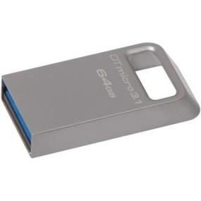 Kingston DTMicro Metal Ultra 64GB USB 3.1  Flash Drive upto 100MB/s Read,(DTMC3/64GB)