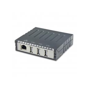 SYBA Combo USB 2.0 + LAN Internal or External Hub, 3 USB Ports and 1 10/100Base-T LAN Port (SY-HUB50045)