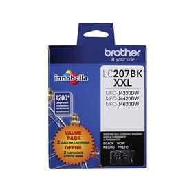 Brother Innobella LC2072PKS Black Ink Cartridge(LC2072PKS)