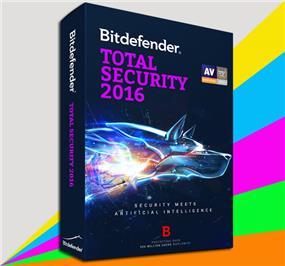 BitDefender Total Security 2016 (1pc/1yr) Bilingual