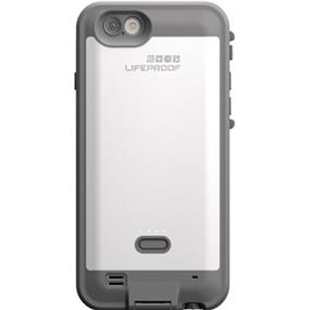 LifeProof 7752786 Fre Power Case 2600mAh for iPhone 6/6s-White/Grey