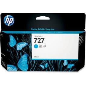 HP 727 Cyan Ink Cartridge (B3P19A)