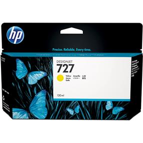HP 727 Yellow Ink Cartridge (B3P21A)