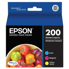 Epson Multi-Pack Color DuraBrite Ultra Ink Cartridges(T200520)