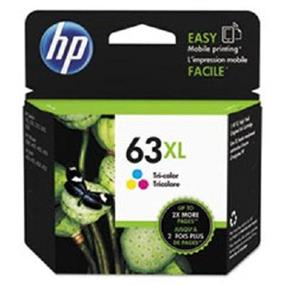 HP 63XL Tri-colour High Yield Original Ink Cartridge (F6U63AN)