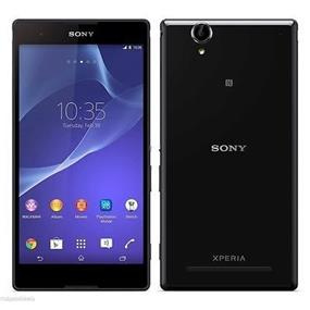 """Sony Xperia T2 Ultra (D5316) - 6.0"""" Unlocked Smartphone - Black (Recertified - Good Condition)"""