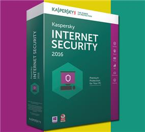 Kaspersky Internet Security  2016 (3 Users, Retail) En/Fr