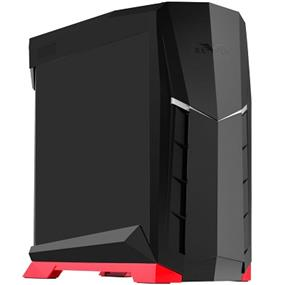 SilverStone Raven RVX01 ATX Black with Red Trim Tower Case (SST-RVX01BR)