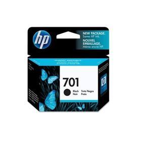 HP 701 Black Original Ink Cartridge (CC635A)