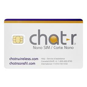 Chatr Nano SIM Card