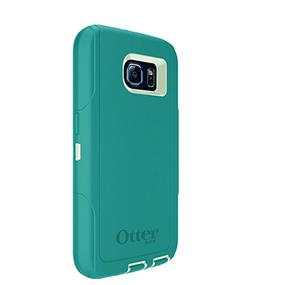 OtterBox 7751154 Defender Case For Galaxy S6-Light Teal Blue/Green