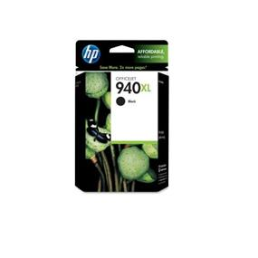 HP 940XL Black High Yield Original Ink Cartridge (C4906AN)