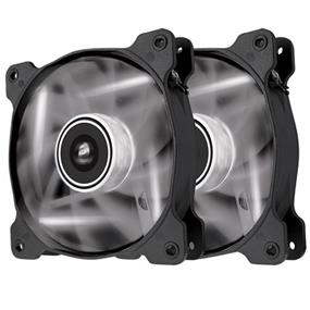 Corsair Air Series SP120 LED White High Static Pressure 120mm Fan Twin Pack (CO-9050030-WW)