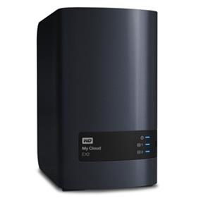 WD My Cloud EX2 8TB Network Attached Storage - NAS - WDBVKW0080JCH-NESN