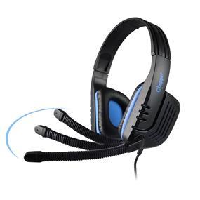 SADES Chopper Stereo 2.0 Gaming Headset-Black + Blue