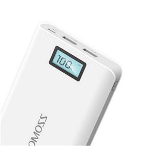 Romoss 16000mAh solo 6 plus Power Bank External Battery White (PH40-307-01)