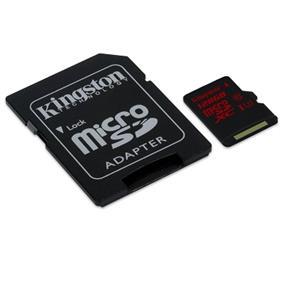 Kingston microSDXC 128GB (Class 10) micro Secure Digital Card Min speed 90MB/s read ,80MB/s write (SDCA3/128GB)