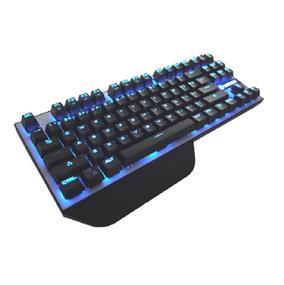 SADES SA-KB87 Gaming Keyboard with colorful LED Light Mechanical Gaming Keyboard (SA-KB87 BROWN)
