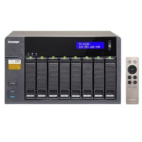 QNAP TS-853A (8GB RAM version) 8-Bay Professional-grade NAS. Intel Braswell Quad-core 1.6GHz CPU with Media Transcoding