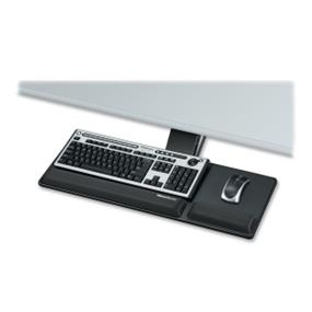 Fellowes Office Suite Deluxe Keyboard Drawer Tray with Microban Antimicrobial Protection (8031201)
