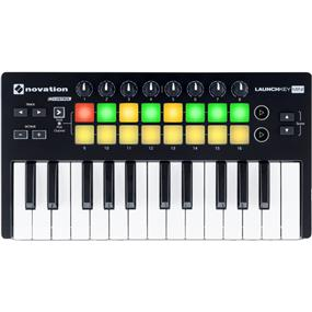 Novation Launchkey Mini MK2 - 25-Key USB MIDI Controller