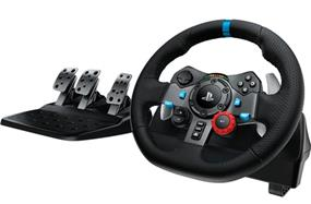 Logitech G29 Driving Force Racing Wheel for PS4, PS3, and PC (941-000110)