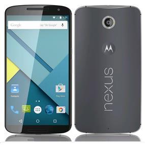 "Motorola Google Nexus 6 (XT1103) - 5.96"" Unlocked Smartphone - Midnight Blue (Recertified - Good Condition)"