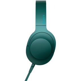 "Sony MDR100AAP/L ""h.ear on"" High-Resolution Audio Headphones (Viridian Blue)"