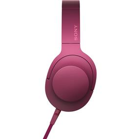 "Sony MDR100AAP/L ""h.ear on"" High-Resolution Audio Headphones (Bordeaux Pink)"