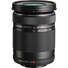 Olympus M.Zuiko Digital ED 40-150mm f/4.0-5.6 R Lens (Black)
