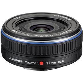 Olympus M.Zuiko Digital 17mm f/2.8 Lens for Micro Four Thirds Cameras (Black)