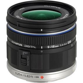 Olympus M.Zuiko Digital ED 9-18mm f/4.0-5.6 Lens