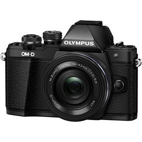 Olympus OM-D E-M10 Mark II Mirrorless Micro Four Thirds Digital Camera with 14-42mm Lens (Black kit)