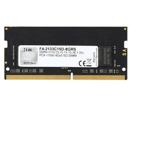 G.SKILL Ripjaws Series 8GB DDR4 2133MHz CL15 1.2V SODIMMs (F4-2133C15D-8GRS)