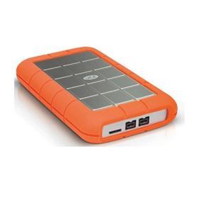 LaCie Rugged Triple 2TB USB3.0 FireWire  2.5'' 5400RPM External Portable Drive(LAC9000448)
